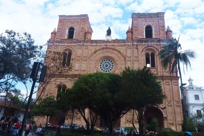 Ecuador - Catedral de la Inmaculada Conception, Cuenca