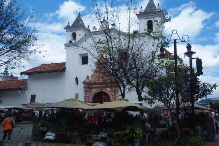 Ecuador - Iglesia del Carmen de la Asuncion, Cuenca