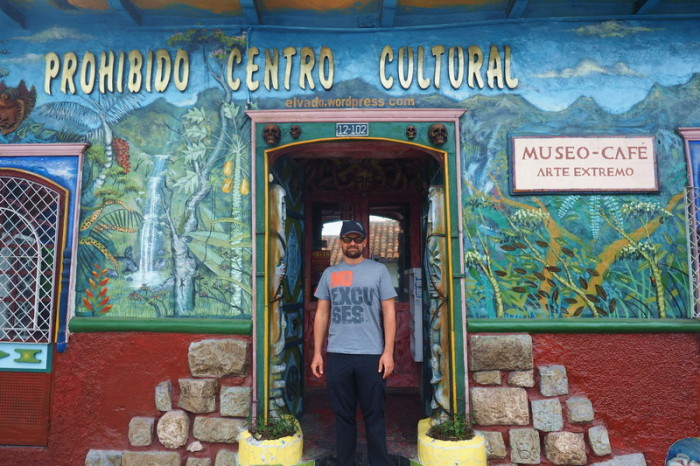 "Ecuador - Outside the weird ""Prohibido Centro Cultural"", Museum of Extreme Art, Cuenca"