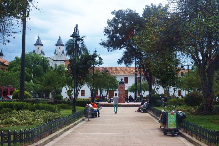 Ecuador - San Blas Park, Cuenca