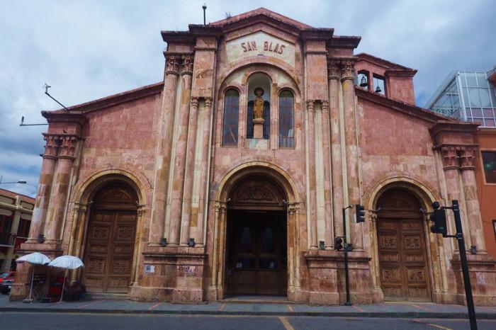 Ecuador - Iglesia de San Blas, Cuenca
