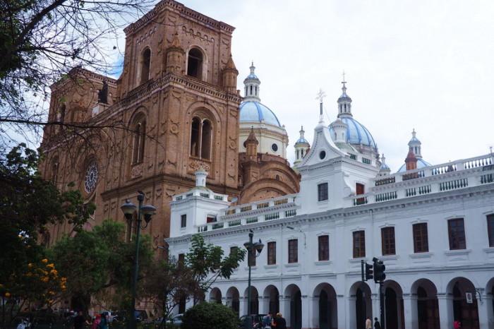 Ecuador - Cathedral de la Inmaculada Conception , Cuenca