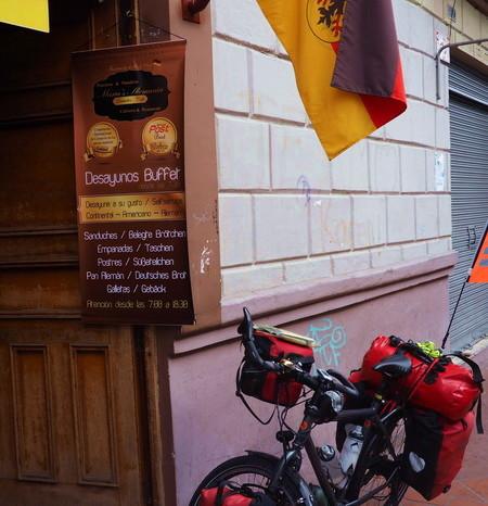 """Ecuador - """"Maria's Alemania"""" German Bakery, Cuenca"""