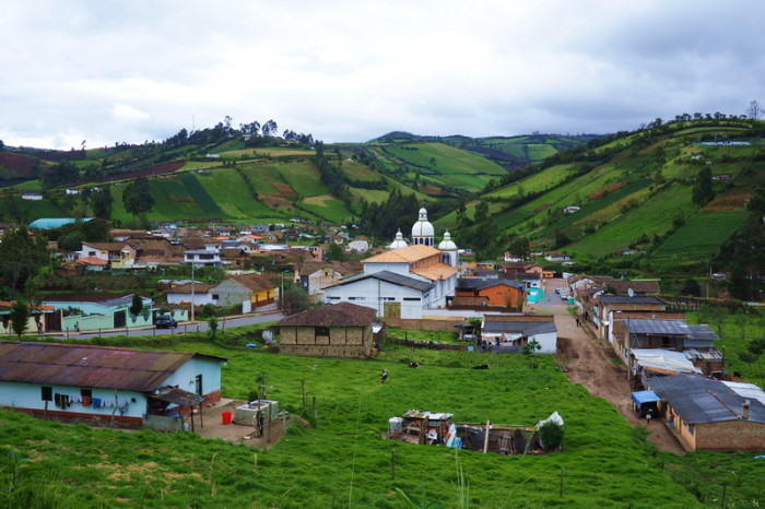 Ecuador - Ecuadorian mountain village