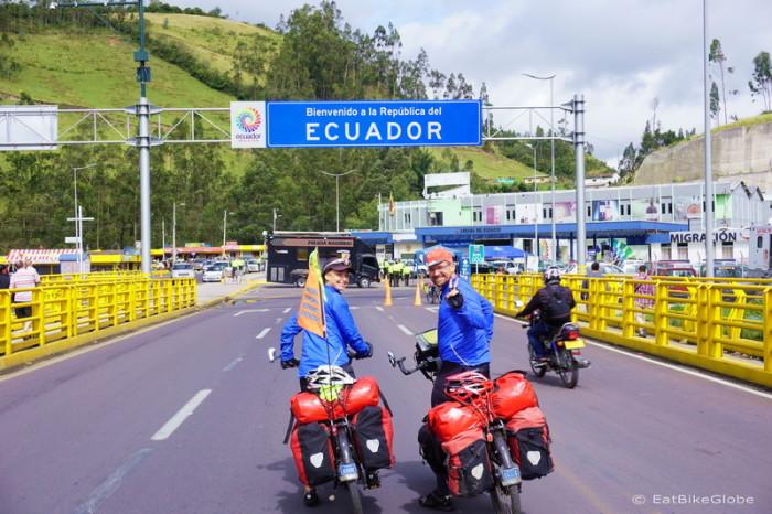 Ecuador - Hello Ecuador!!!! — at Ecuador Colombia Border