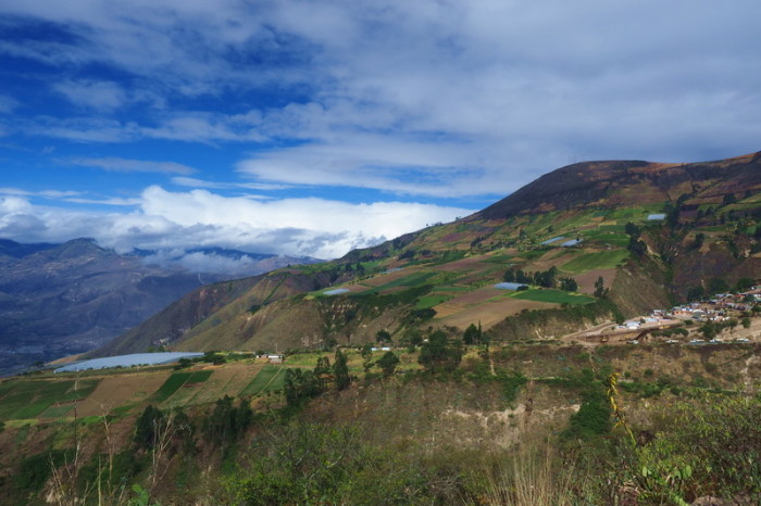 Ecuador - Views on our way to Ibarra
