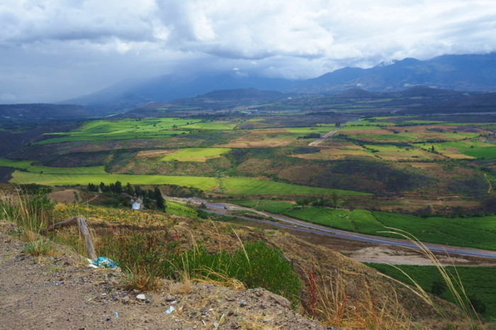 Ecuador - On the final climb to Ibarra