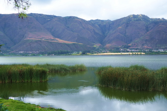 Ecuador - Lake Yahuarcocha, near Ibarra