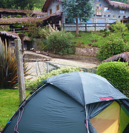 Ecuador - Our amazing campsite at Hacienda El Hato!