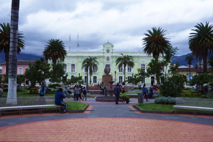 Ecuador - The city hall of Otavalo