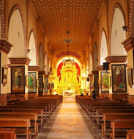 Ecuador - Inside the Santuario Del Senor de las Angustias, Otavalo
