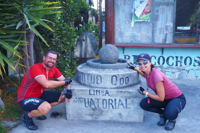 Ecuador - At the equator monument