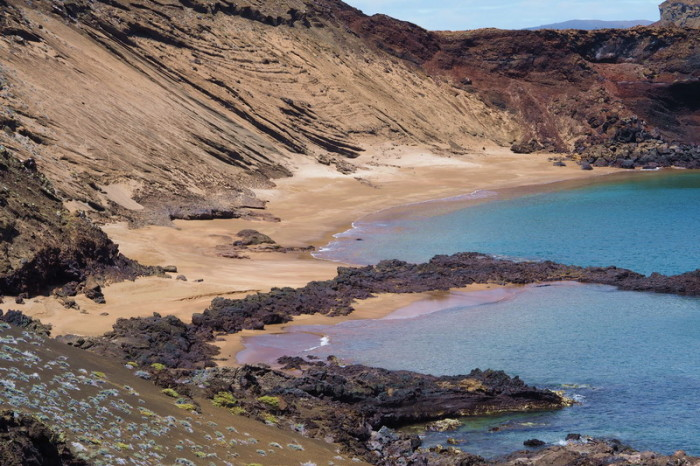 Galapagos - Beautiful bay, Bartolome Island