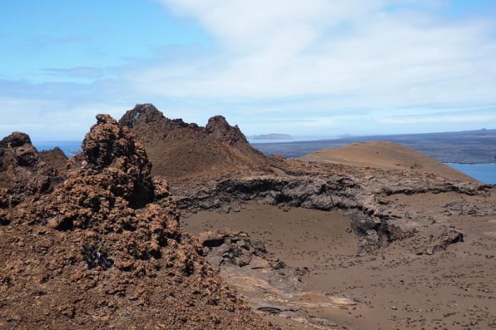 Galapagos - Parasite lava cone, Bartolome Island