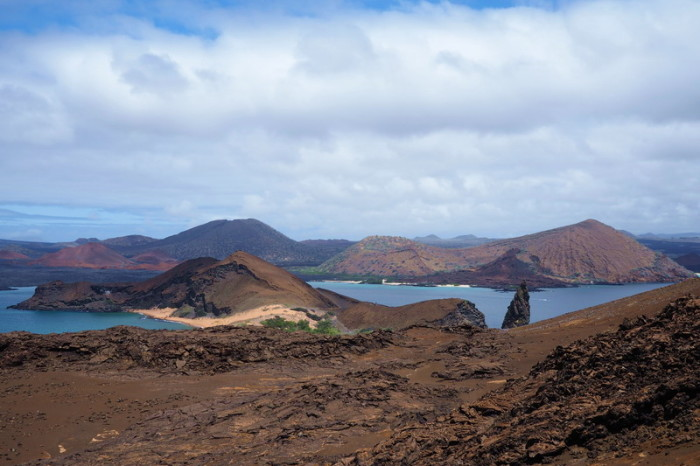 Galapagos - Views while climbing Bartolome Island