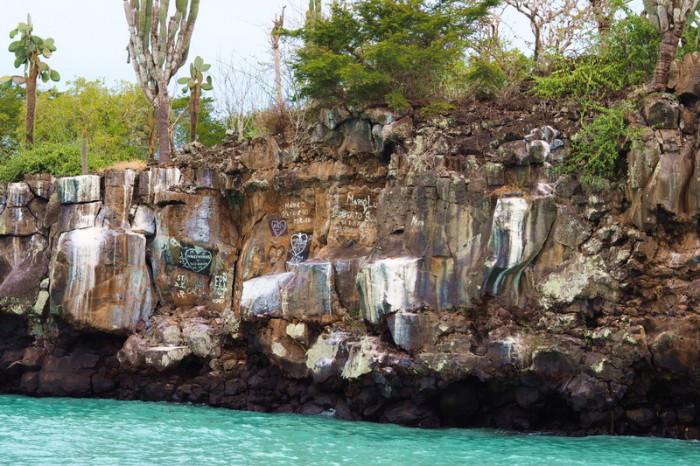 Galapagos - Views on our Santa Cruz Bay Tour