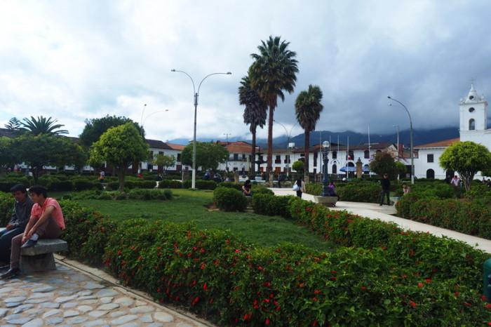 OLYMPUS DIGITAL CAMERA - Plaza de Armas, Chachapoyas