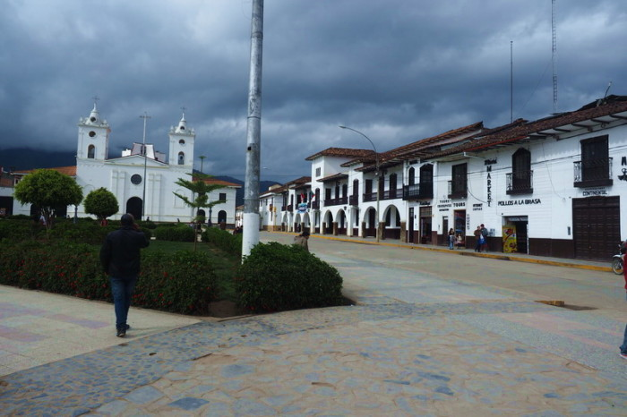Peru - Plaza de Armas, Chachapoyas