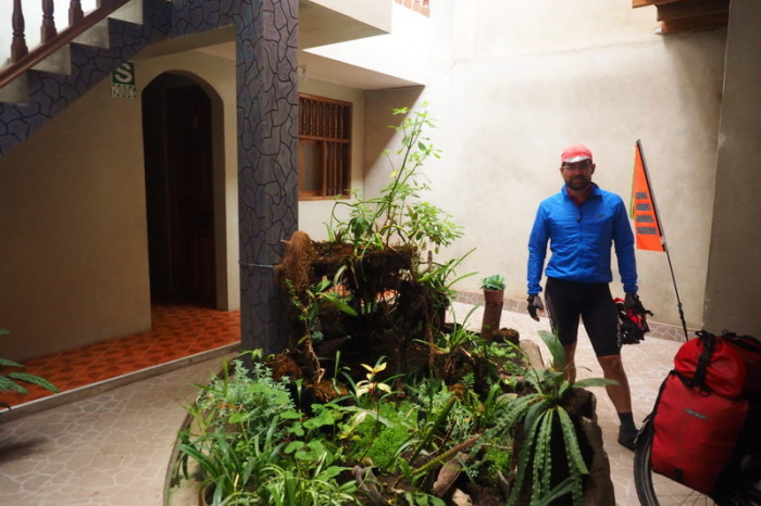 Peru - Our hospedaje in Leymebamba - Hospedaje Diaz