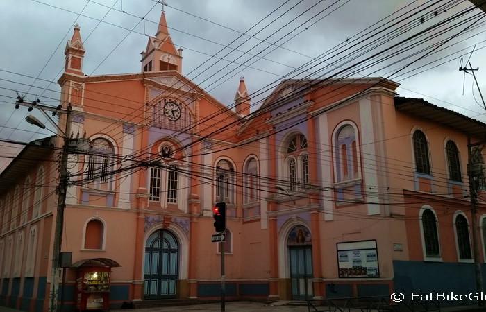 Ecuador - Church in Loja