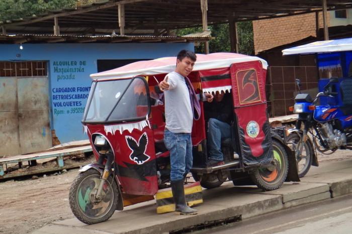 Peru - Motor taxi in San Ignacio