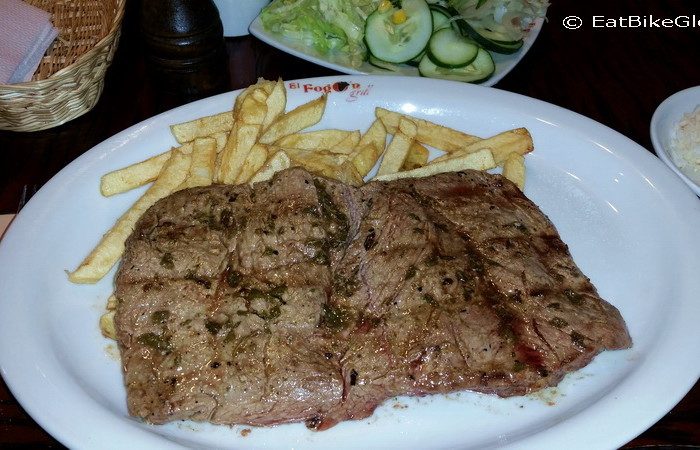 Ecuador - Dinner at El Fogon Grill, Loja - best steak in Ecuador!