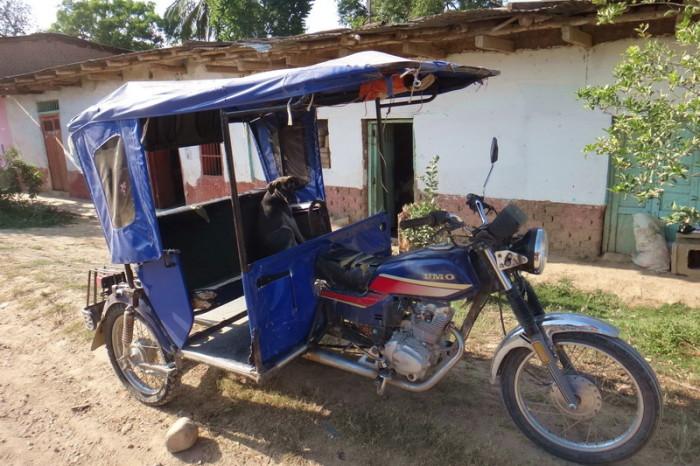 Peru - Motor taxi