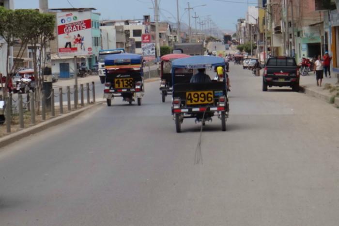 Peru - Busy streets of Bagua Grande