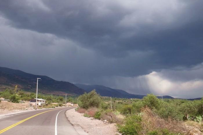 Peru - Storm above Huanta
