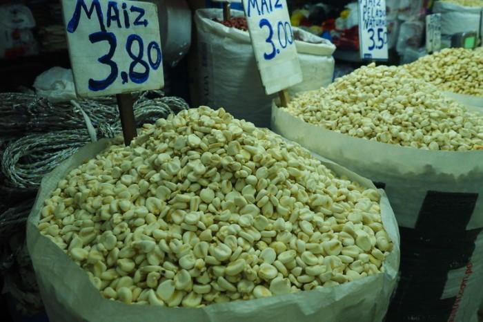 Peru - Maiz, Huancayo Market