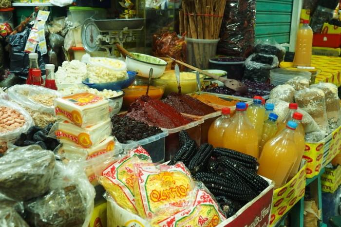 Peru - Aji (chilli sauce), Huancayo Market