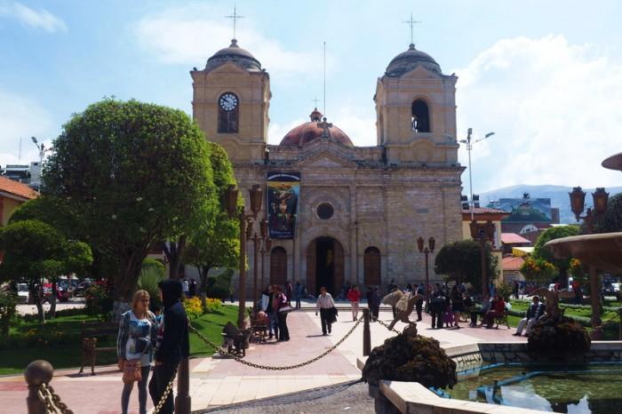 Peru - Huancayo Cathedral