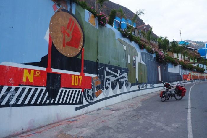 Peru - Street art, Mariscal Caceres