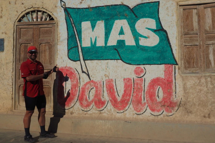 """Peru  - """"Mas David"""" = More David!"""