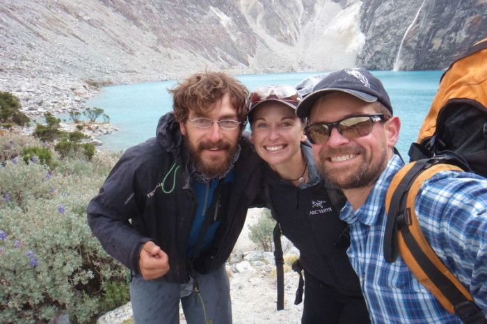 Laguna 69  - We hiked up to Laguna 69 with Javier - an awesome cycle tourer from Spain!