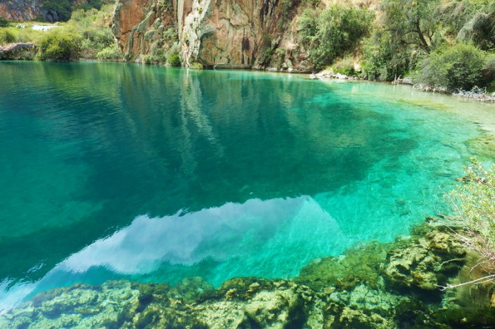 Peru -  Crystal clear water at Huallhua — at Nor Yauyos-Cochas Landscape Reserve