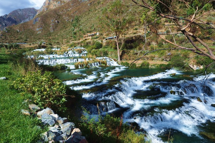 Peru -  The Cascades — at Nor Yauyos-Cochas Landscape Reserve