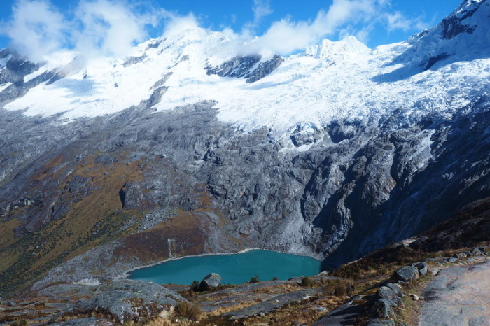 Santa Cruz Trek - Mount Taulliraju and Laguna Taullicocha - simply gorgeous in the sunshine!