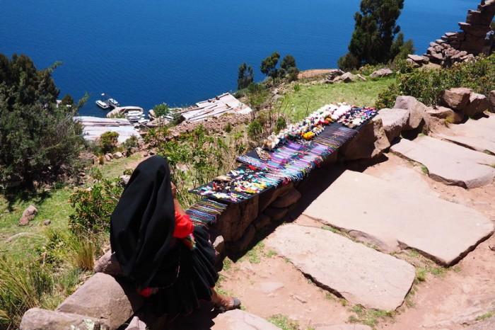 Peru - Local handiwork, Taquile Island, Lake Titicaca