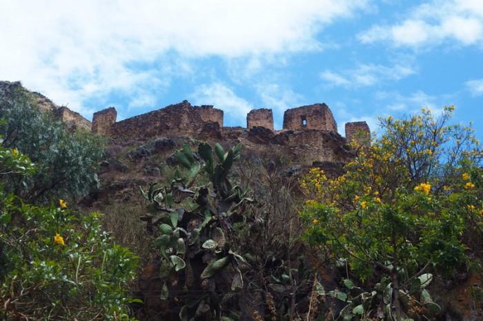 Peru - Incan ruins near Ollantaytambo