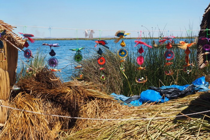 Peru - Mobiles, Uros Floating Island, Lake Titicaca