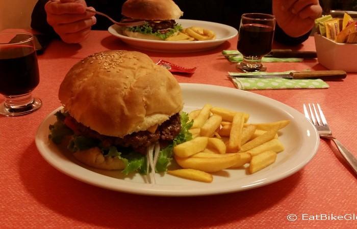 Peru - Burgers in Abancay
