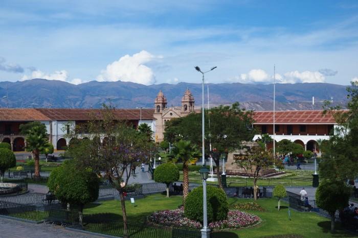 Peru - Plaza de Armas, Ayacucho