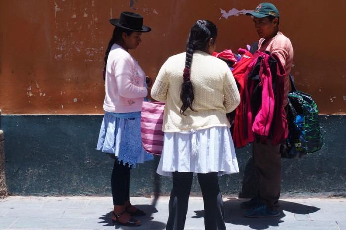 Peru - Pedestrian only street, Ayacucho