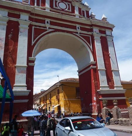 Peru - Arco de Triunfo, Ayacucho