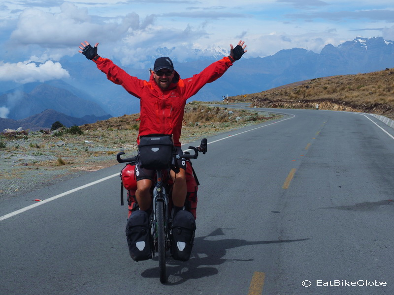 Yeah - we made it to the top of the pass!