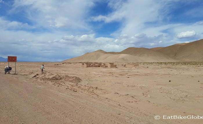 Argentina - These ruins are located approximately 80kms from the Jama Pass ... they would make a good campsite!