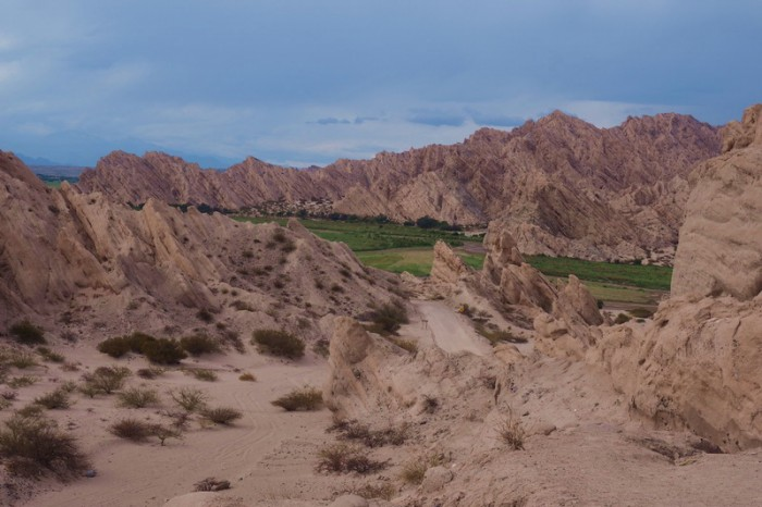 Argentina - The beautiful Quebrada de Las Flechas, along the Ruta 40