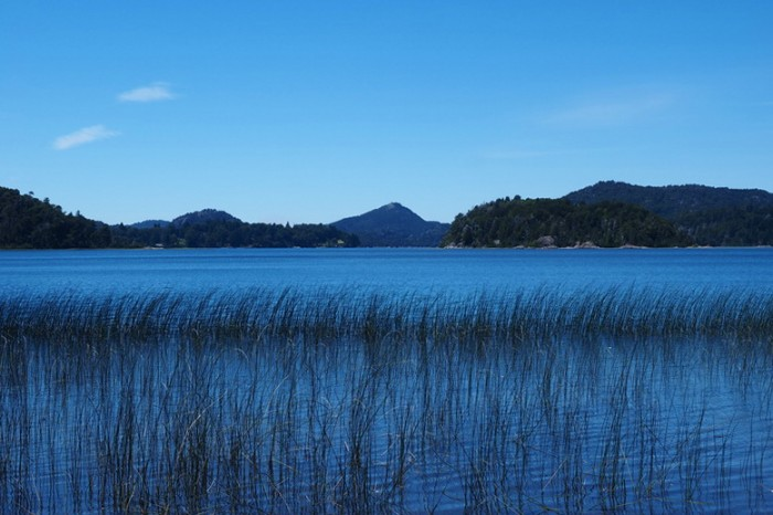 Argentina - Lake views while cycling the Circuito Chico, Bariloche