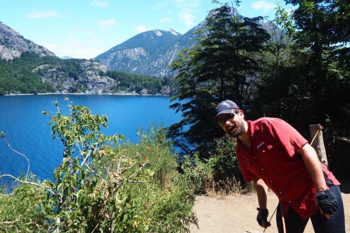 Argentina - Lake views while cycling the Circuito Chico, Bariloche